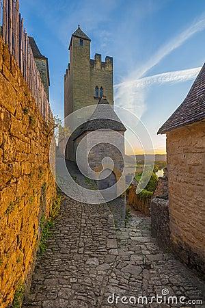 Het kasteel of chateau van Beynac