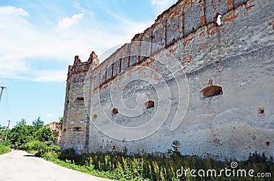 Het kasteel staart binnen Selo