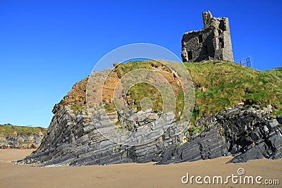 Het kasteel van Ballybunion
