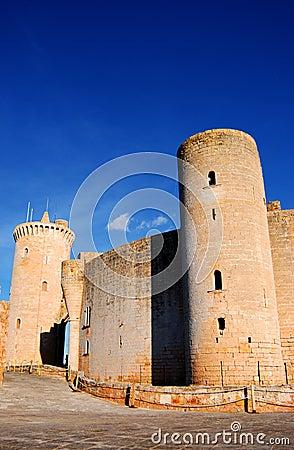Het Kasteel van Bellver (Majorca)