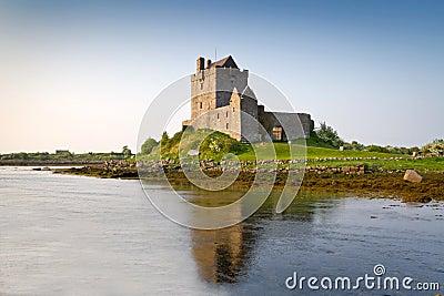 Het kasteel van Dunguaire van de 16de Eeuw