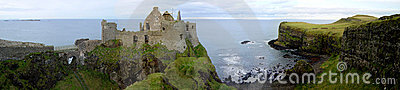 Het Kasteel van Dunluce
