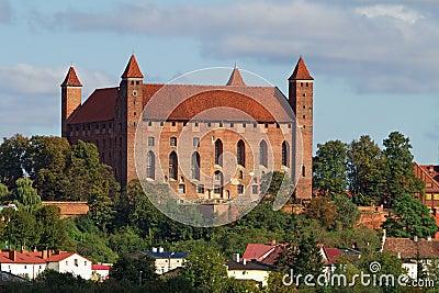 Het kasteel van Gniew