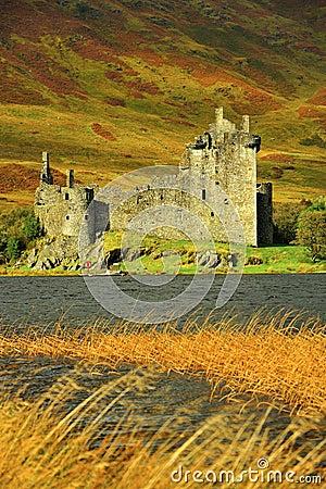 Het kasteel van Kilchurn, Schotland
