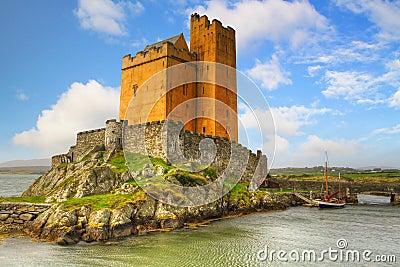 Het kasteel van Kilcoe