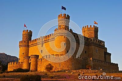 Het kasteel van Mendoza.