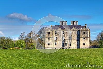 Het Kasteel van Portumna in Ierland
