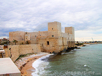 Het kasteel van Trani