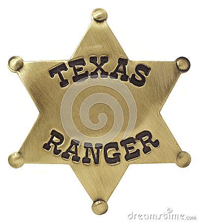 Het Kenteken van de Boswachter van Texas