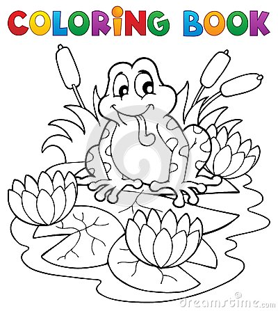 Het kleuren de faunabeeld 2 van de boekrivier