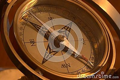 Het kompas van het schip