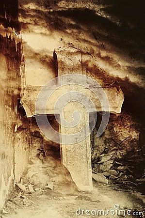 Het kruis van de steen