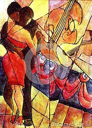 Het Kubisme van de jazz