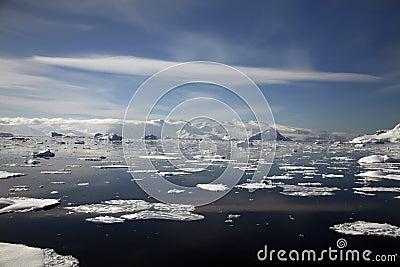 Het Landschap van Antarctica