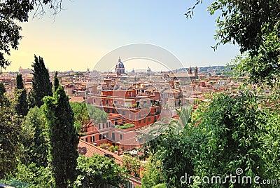 Het landschap van Rome