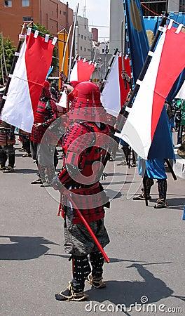 Het leger van samoeraien