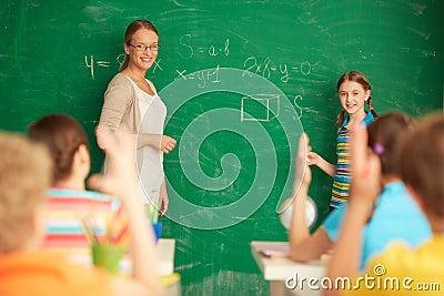 Het leren wiskunde