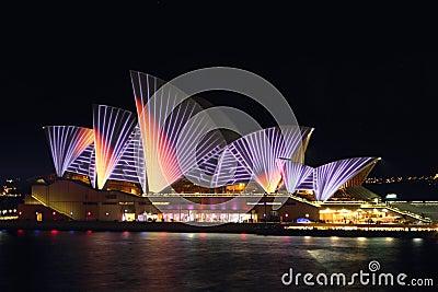 Het levendige Huis van de Opera Redactionele Afbeelding