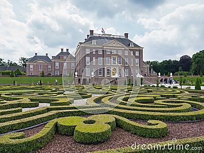 Het-Loo för kunglig slott i Nederländerna Redaktionell Fotografering för Bildbyråer