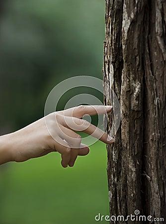 Het lopen van de hand