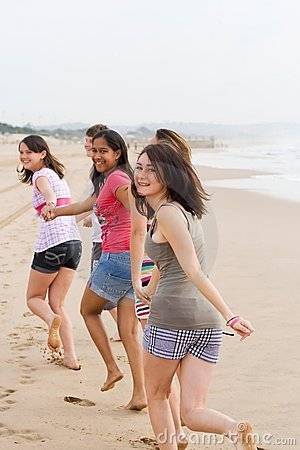 Het lopen van tienerjaren