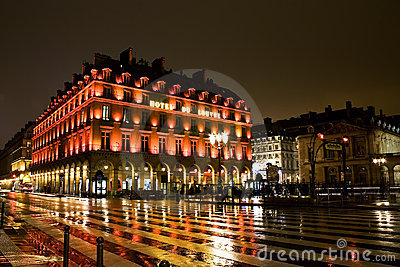 Het Louvre van het hotel, Parijs