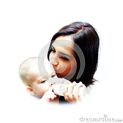 Het mamma houdt van u