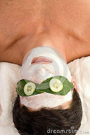 Het Masker van de Yoghurt van de komkommer