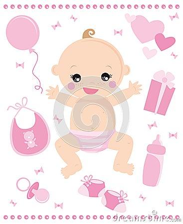 Het meisje van de baby