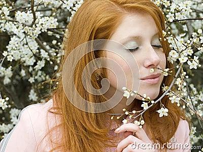 De lentemeisje