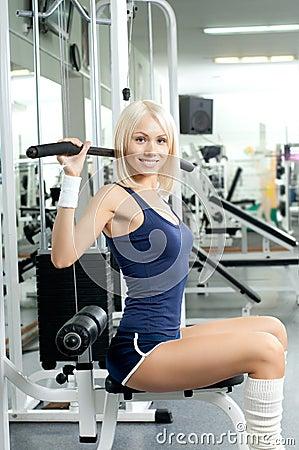 Het meisje van de sport