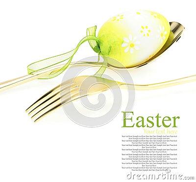 Het menu van Pasen