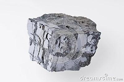 Het Mineraal van het loodglans