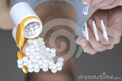 Het misbruik van narcotica