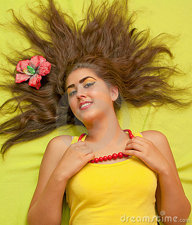 Het model van het haar