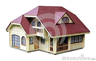 Het model van het huis
