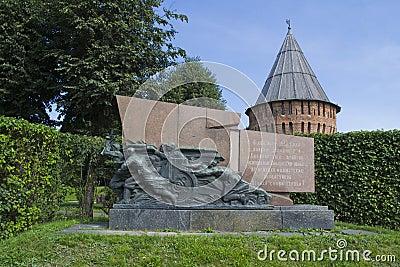 Het monument aan de helden van Wereldoorlog II