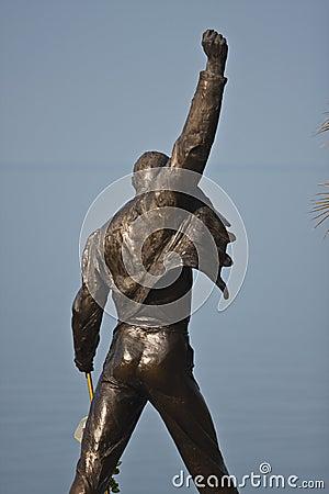 Het monument van het Kwik van Freddie