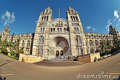 Het Museum van de Biologie, Londen.