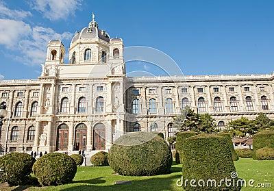 Het museum van Wenen