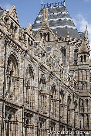 Het nationale Museum van de Geschiedenis, Londen