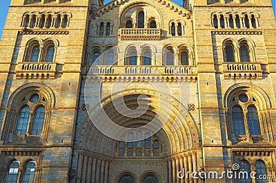 Het nationale Museum van de Geschiedenis in Londen, Engeland