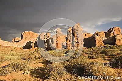Het Nationale Park van bogen