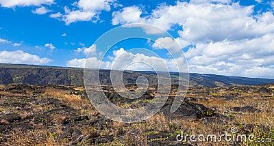 Het Nationale Park van vulkanen