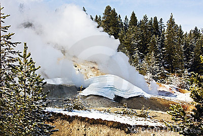 Het Nationale Park van Yellowstone