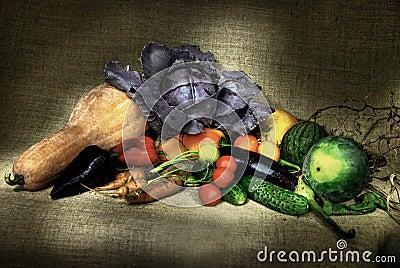 Het nog-leven van groenten