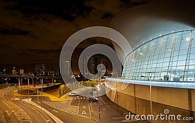 Het Olympische zwembad van Londen