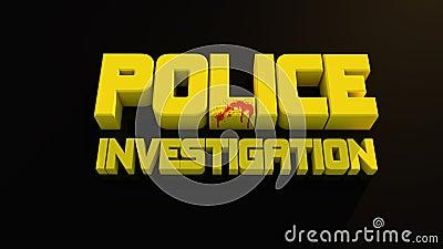 Het onderzoek van de politie