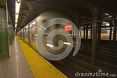 Het onduidelijke beeld van de de metromotie van New York