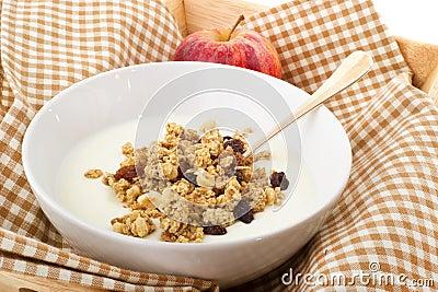 Het ontbijt van het dieet